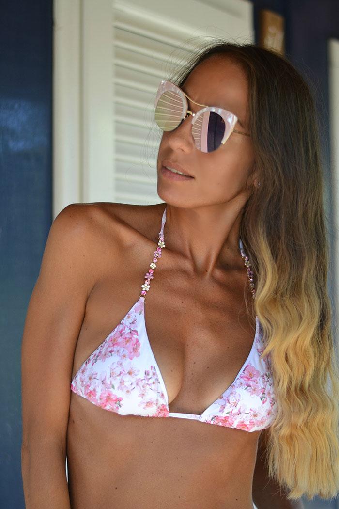 bikini floreale