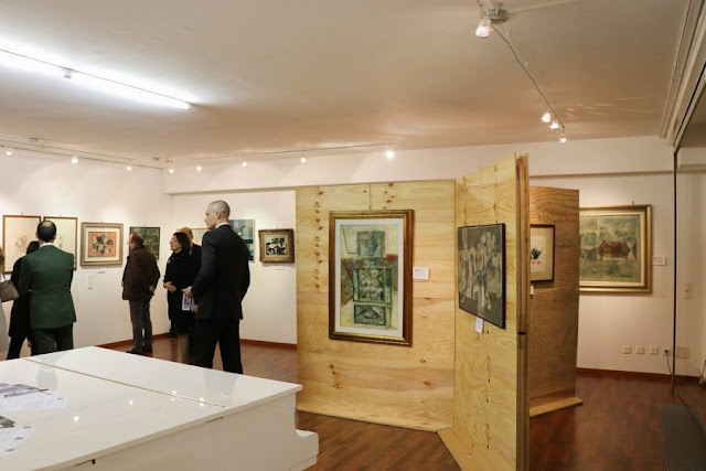 The paintings of Ibrahim Kodra exhibited in Switzerland