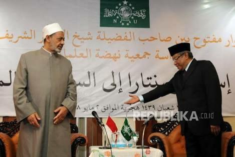 Makjleb, Grand Syaikh Al Azhar Nasihati Said Aqil Agar tak Fanatik Kesukuan, Bahkan Bisa Tidak Sah Imannya