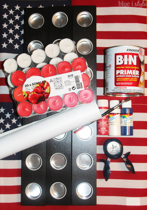 4th of July Centerpiece Supplies
