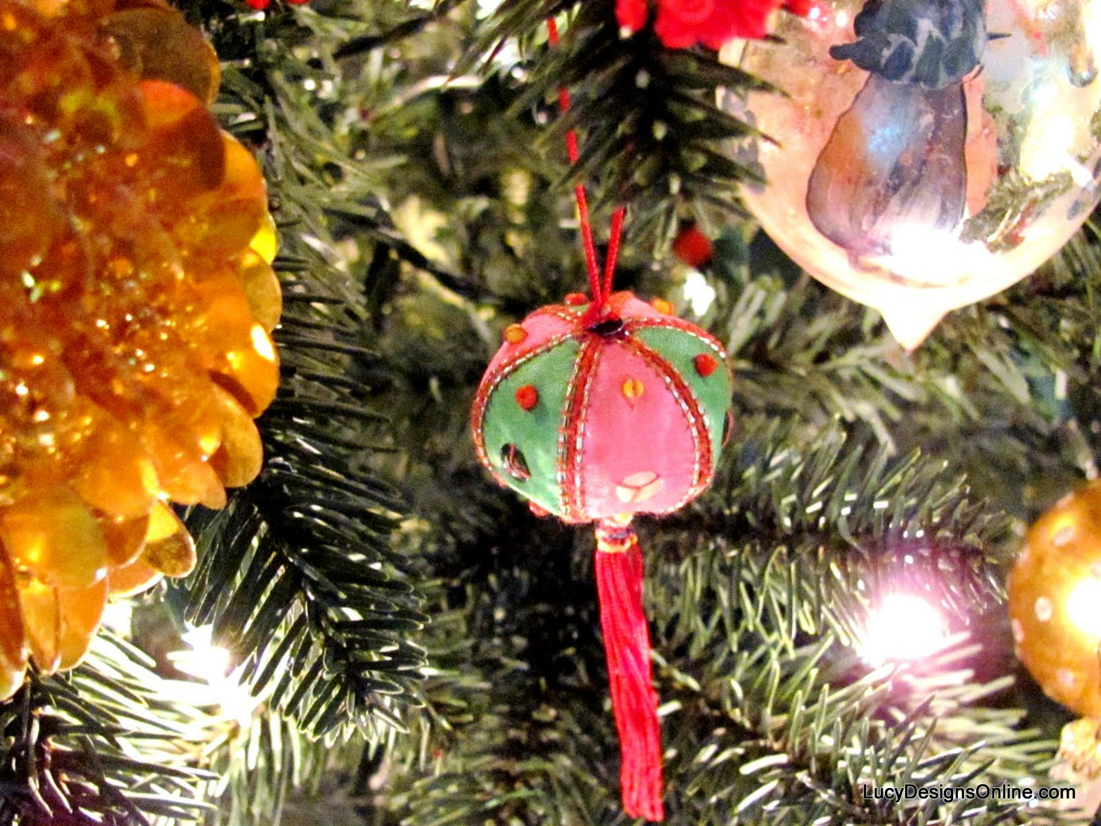 vintage chinese lantern ornaments