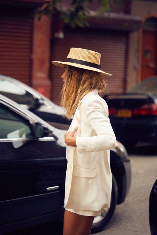 #blog #estilo #style #streetstyle #estiloderua #look #outfit #blazer #blazerbranco