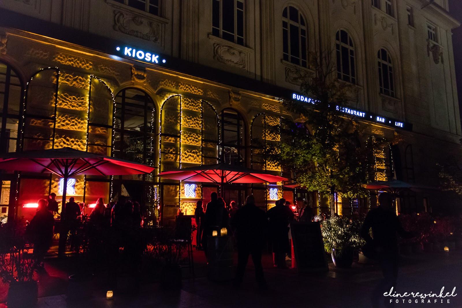 Hotspot in Budapest: Kiosk