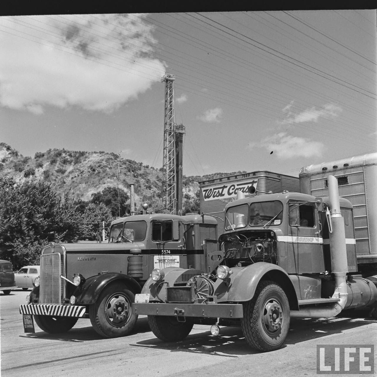 Here Are Some Other Photos I Found When Searching For The Kenworth Boeing Turbine Engine These 1952 Kws