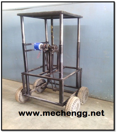 WEIGHT OPERATED MATERIAL HANDLING DEVICE