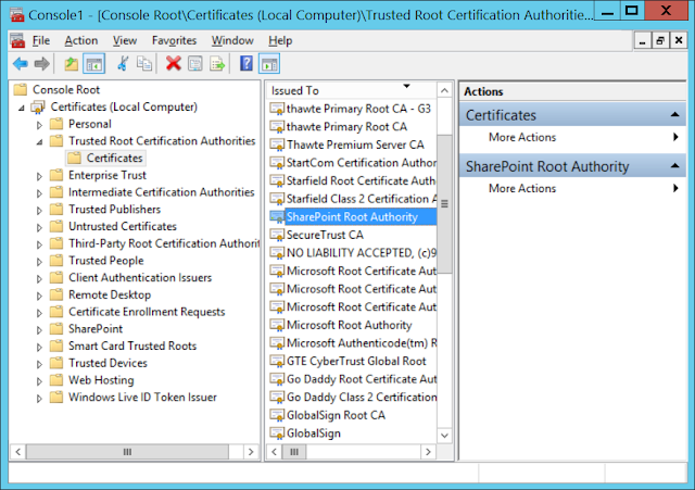 fix sharepoint certificate validation operation took exceeded execution time threshold