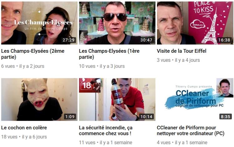 Thierry Cumps vidéos