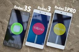 Perbedaan Seri HP Xiaomi Redmi 3, Redmi 3 Pro dan Redmi 3S Prime