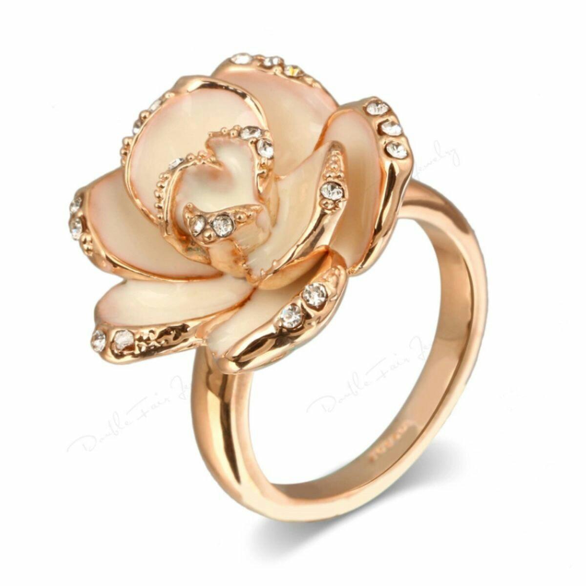floral ring designs