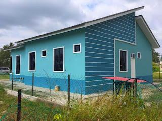 Design terkini bina rumah atas tanah sendiri