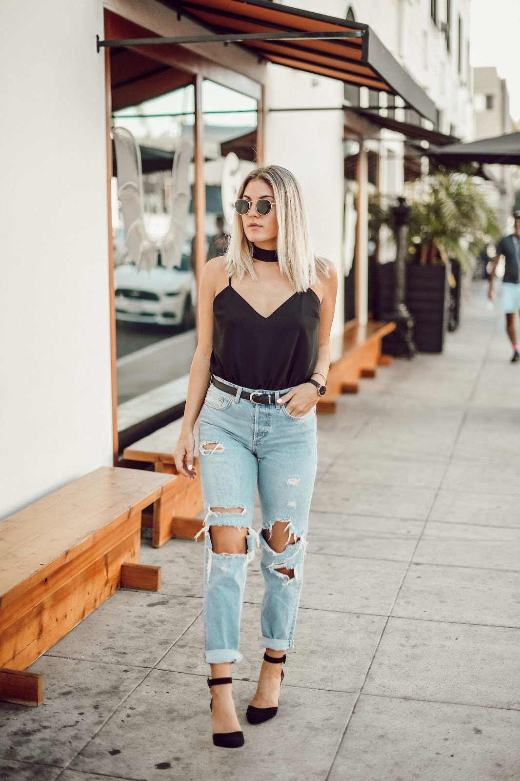 Perfect Ripped Boyfriend Denim - @taylorwinkelmeyer
