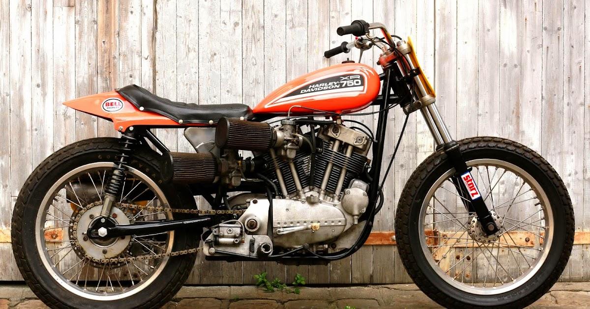 The Harley Davidson Xr 750: Racing Cafè: Harley-Davidson XR 750 Dirt Track