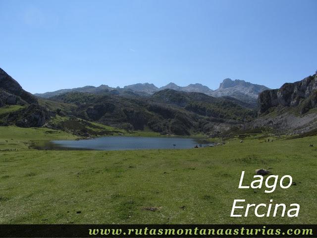Ruta Lagos de Covadonga PR PNPE-2: Lago Ercina