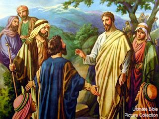 Jesus asking Peter who He is - Matthew 16