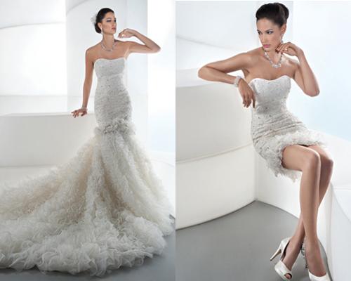 Vestidos%2B2%2Bem%2Bum8 - Uma noiva e 2 vestidos - Vestidos transformáveis 2 em 1