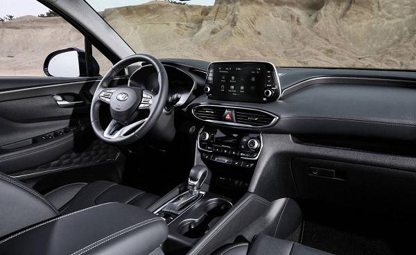 Interior Hyundai Santa Fe 2018