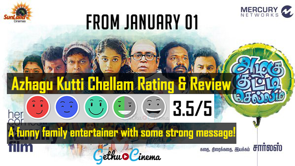 Azhagu Kutti Chellam Tamil Movie Review Rating