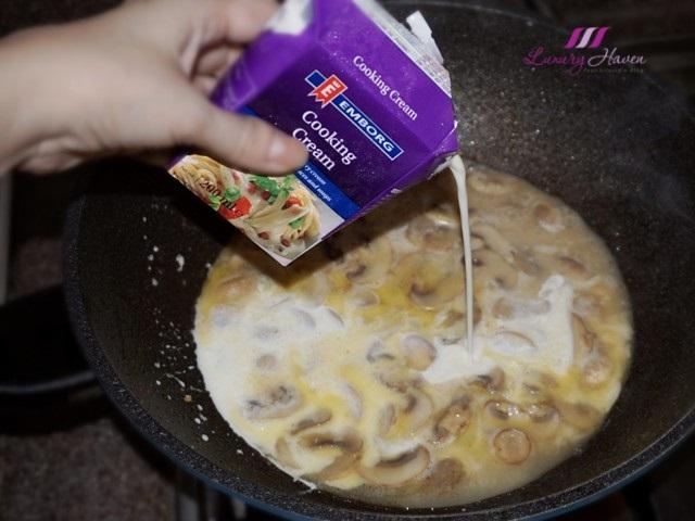 emborg cooking cream pasta recipes