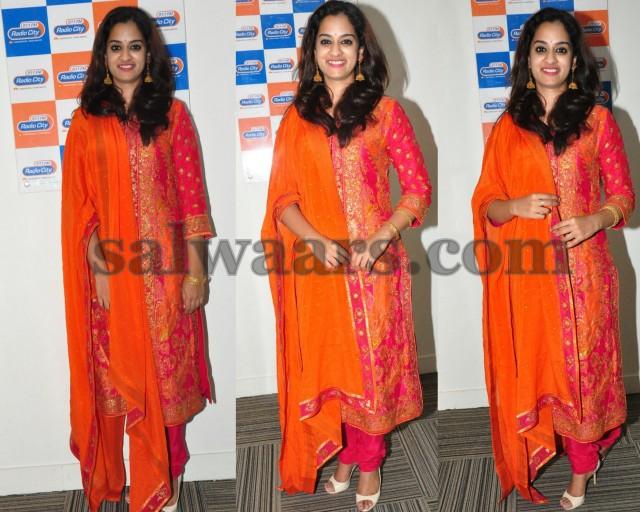 Nandita Pink Heavy Salwar