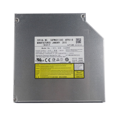 UJ260 voor Panasonic 12.7mm SATA Tray Load Blu-ray BD DVD Burner Laptop Drive