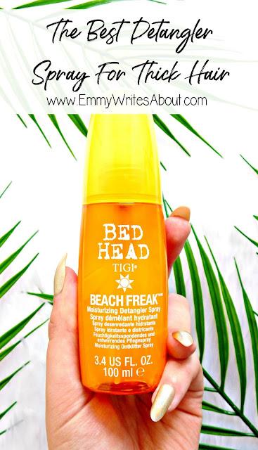 TIGI Bed Head Beach Freak Moisturizing Detangler Spray Review