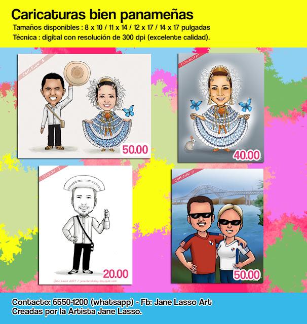 Caricaturas panameñas