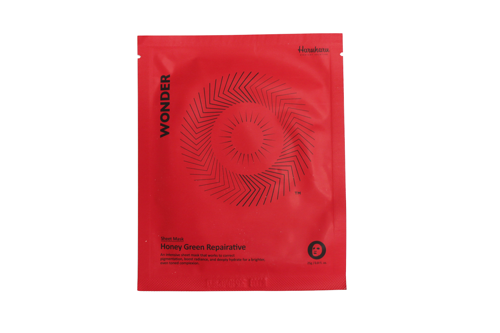 Haruharu, Wonder Starter Kit - Anti-Oxidant, Brilliant, Repairative, Aqua Bomb - Zestaw startowy zawierający cztery różne maski w płachcie