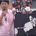Willie Revillame impressed egg shell mosaic given from fans