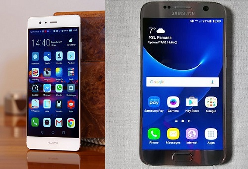Samsung-Galaxy-S7-VS-Huawei-P9-compare-specs-mobile