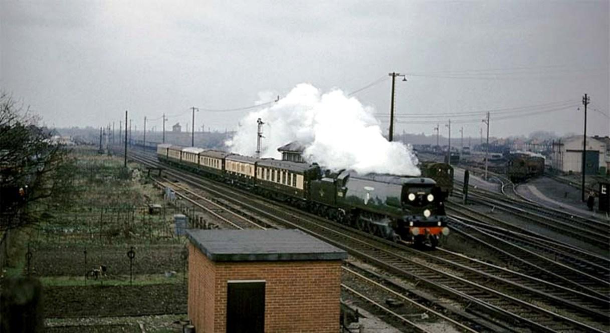 34051 9 - Rail trespassers of 1965