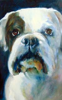 dog portrait artist ashby