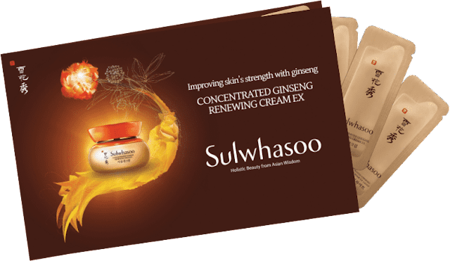 Sulwhasoo Concentrated Ginseng Renewing Cream EX Free Sample