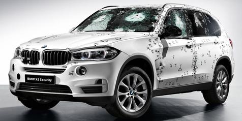 BMW X5 Terbaru Punya Tubuh Kekar Anti Peluru