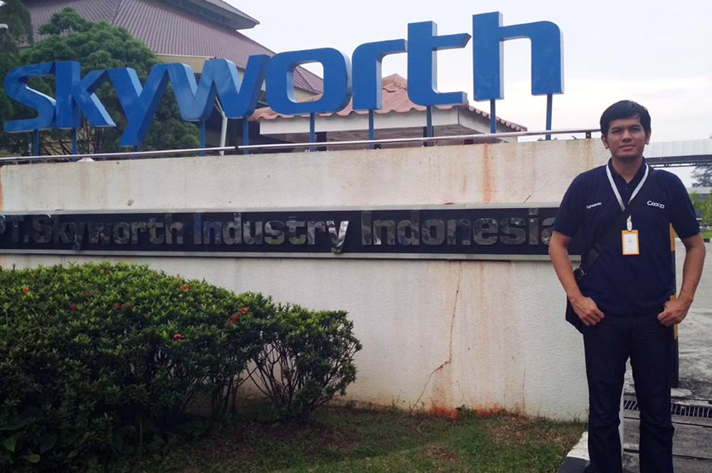 Pabrik TV Televisi Coocaa Skyworth Indonesia
