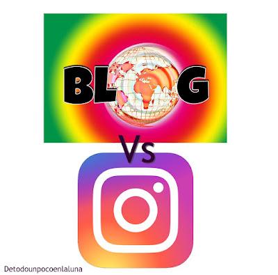 blog vs instagram