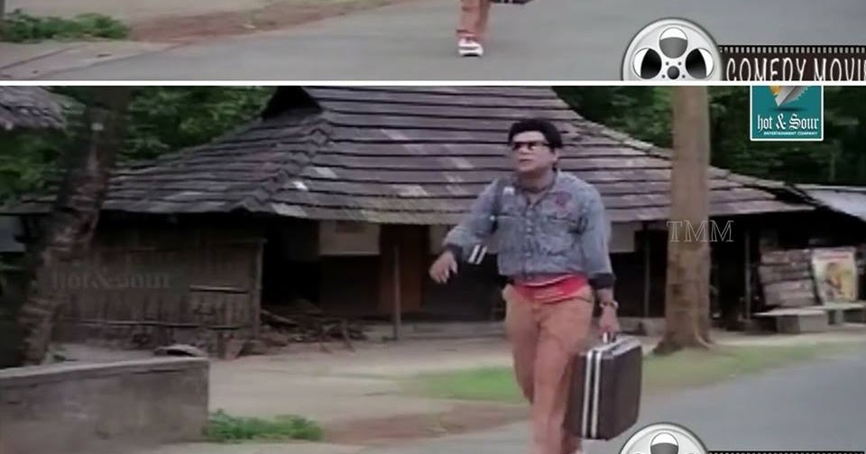 Jagathy Old Meme Walking With A Box