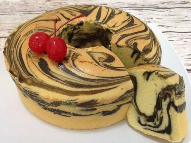 Resep dan Cara Membuat Marmer Cake Mudah dan Sederhana