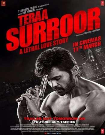 Poster Of Teraa Surroor 2016 Hindi 300MB DVDScr 480p x264 Free Download Watch Online