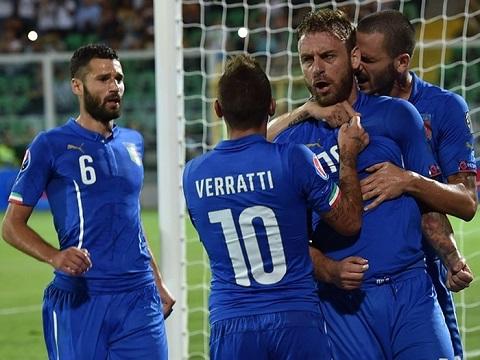Italia không đủ các chiến binh mạnh nhất để ra sân