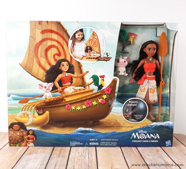 Disney Moana Starlight Canoe and Friends set from Hasbro #PlayLikeHasbro