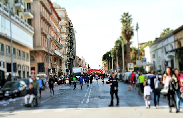 Maratona a Bari 29 ottobre 2017