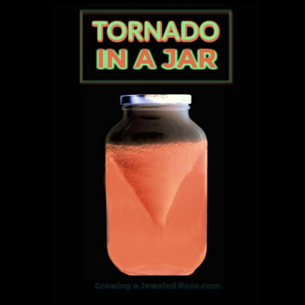 AMAZING SCIENCE: Make a glowing tornado in a jar!