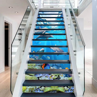 11 Coolest Stair Stickers For Your Home.
