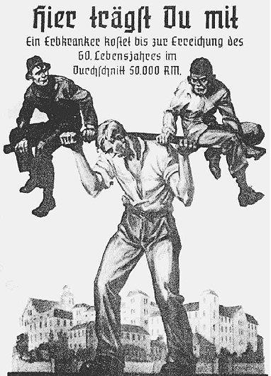 La campaña nazi que inspiró el dibujo del macrismo