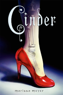 Cover image of Cinder, by Marissa Meyer
