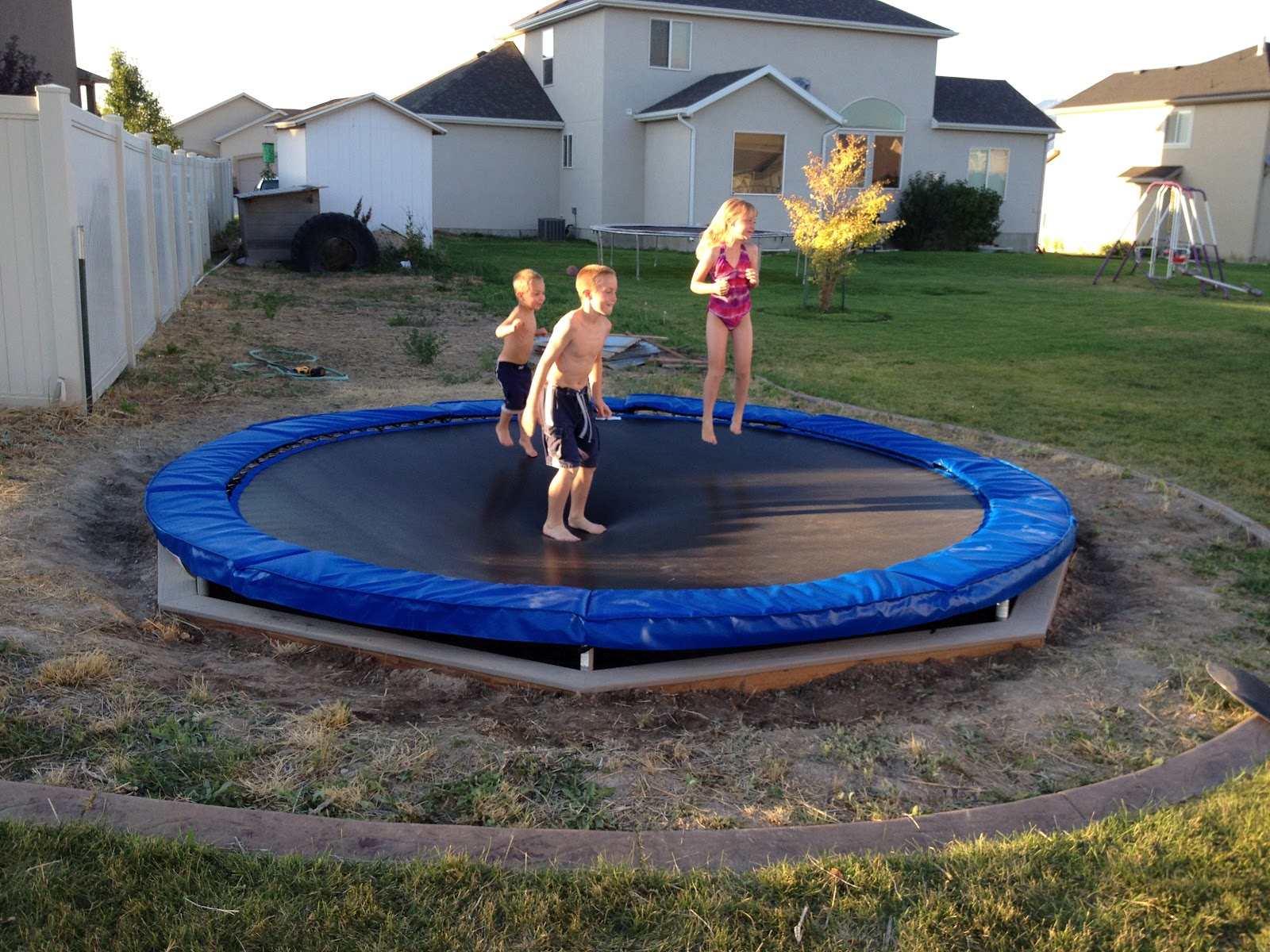 The Jackman Family Trampoline Project