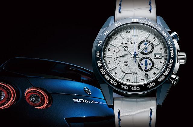 グランドセイコー 日産GT-R コラボ腕時計