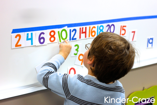 FREE interactive number line to help students master numbers up to 30