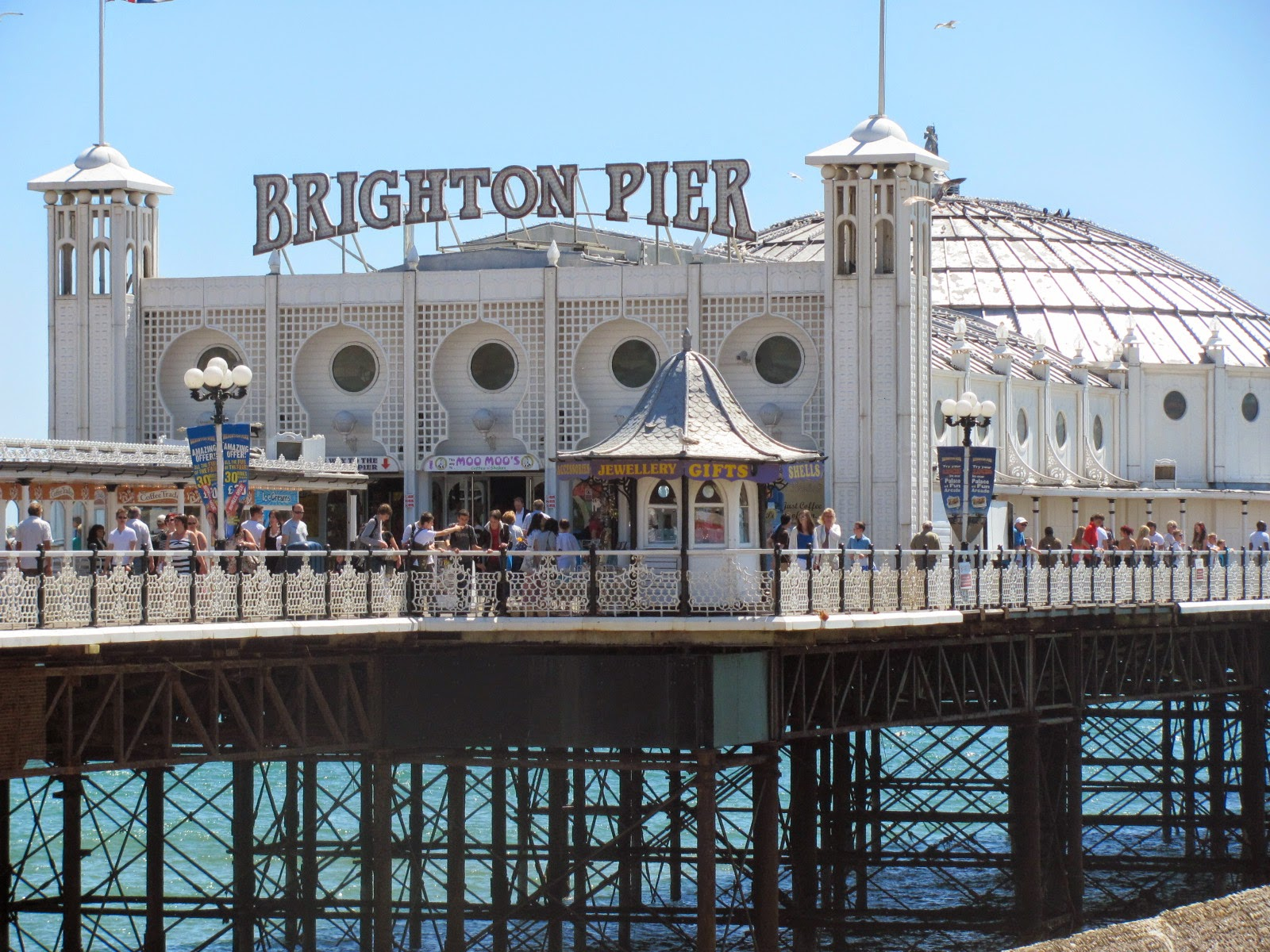 A shot of Brighton Pier