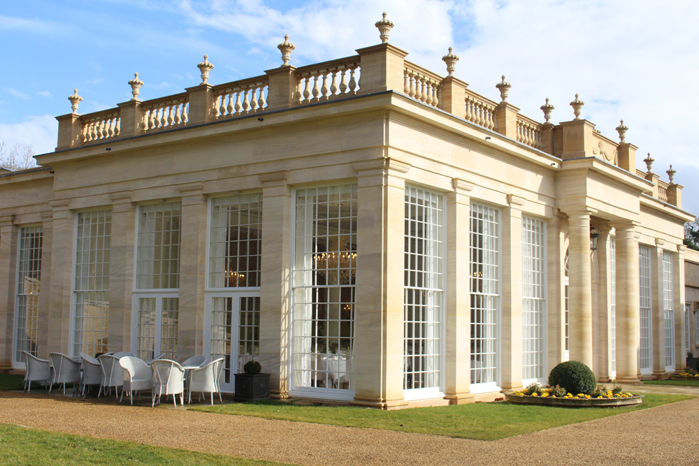 The Rushton Hall orangerie, Northamptonshire - UK luxury travel blog